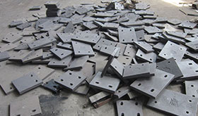 Impact Crusher Lining Plate Parts