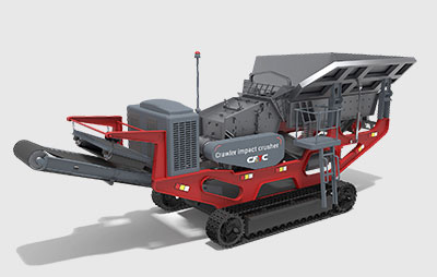 80-600tph Tracked Impact Crusher Plant supplier, low cost, good price, stone crusher manufacturer, sale china