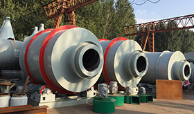 3-99tph Rotary Sand Dryer supplier, low cost, good price, stone crusher manufacturer, sale china